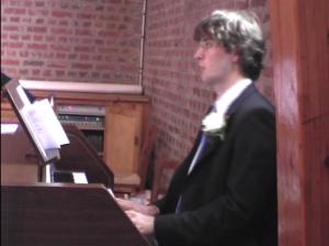 à l'orgue
