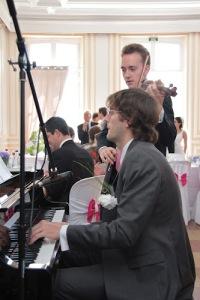 cocktail piano violon